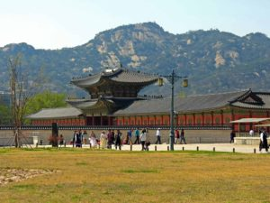 Gyeongbokgung palace Seoul, South Korea