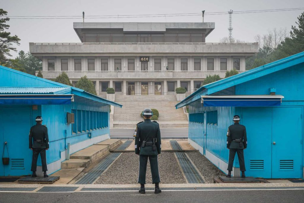 JSA Panmunjom, South_Korea, DMZ