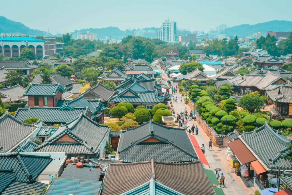 Jeonju Hanok village, South Korea