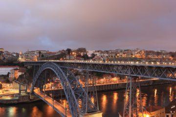 Luiz 1 Bridge Eifel, Portugal