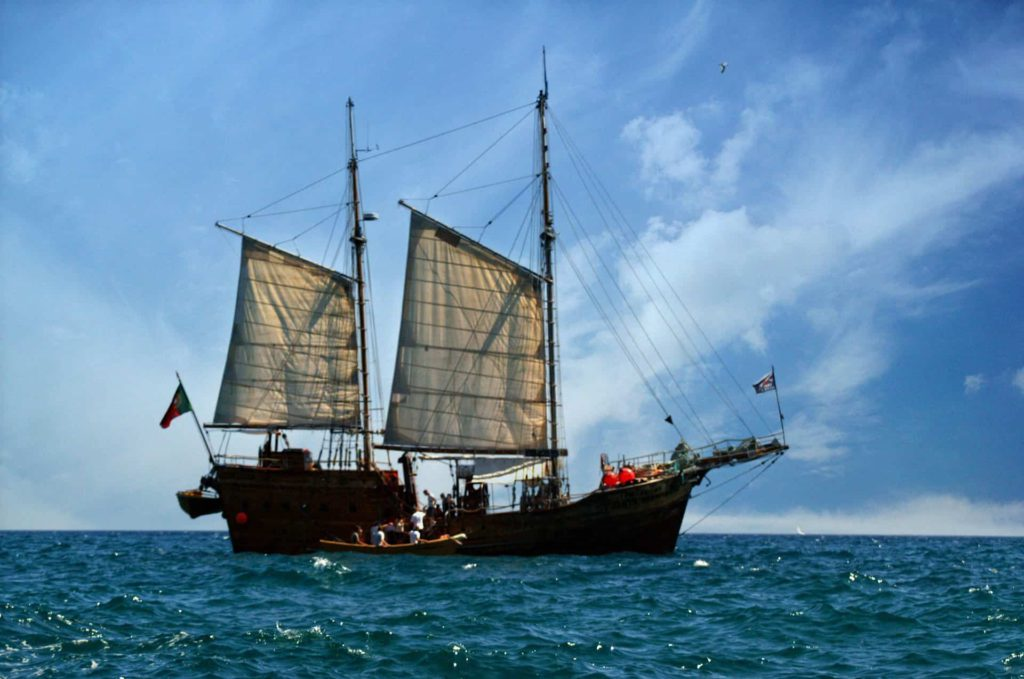 Portugal pirate ship