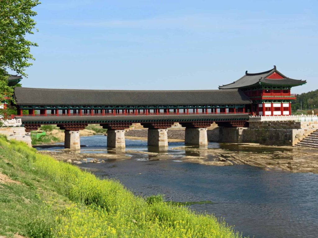 Gyeongju Woljeonggyo Bridge, South Korea