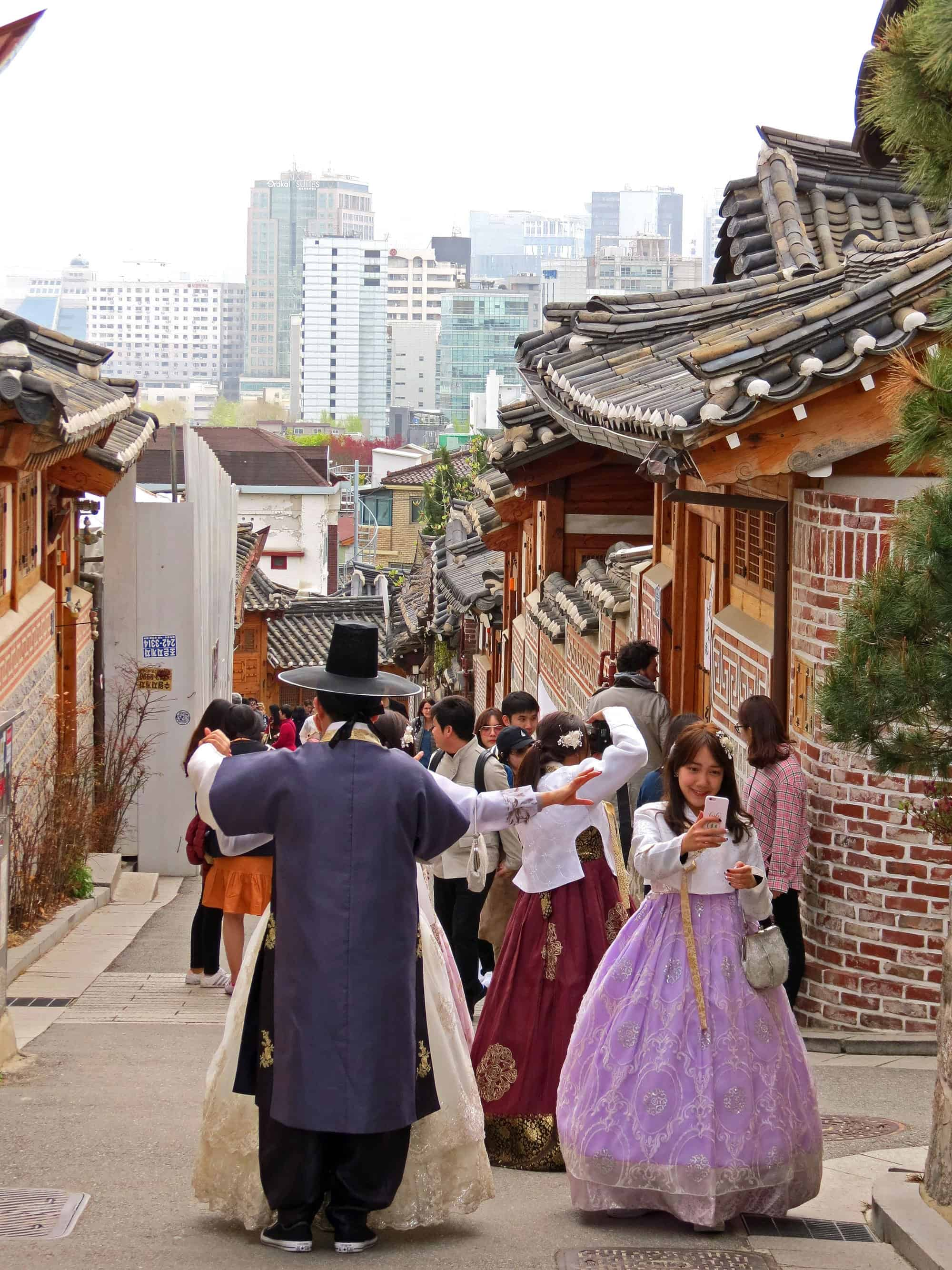 Seoul, Bukchon Hanok Village, South Korea