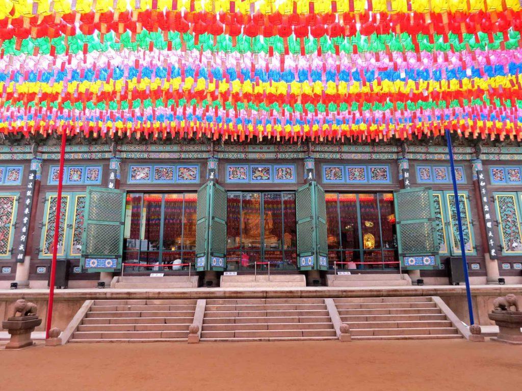 Seoul, Jogyesa temple, South Korea