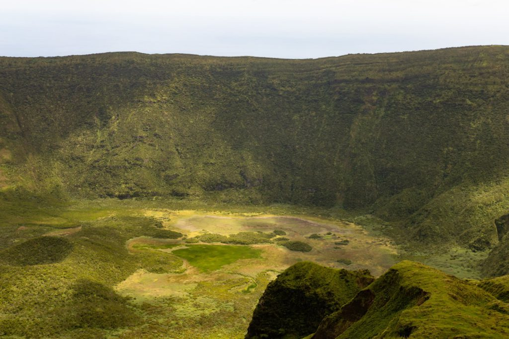 Caldeira Faial Azores, Portugal