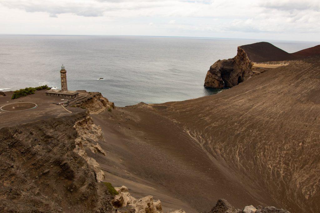 Capelinhos Faial Azores, Portugal