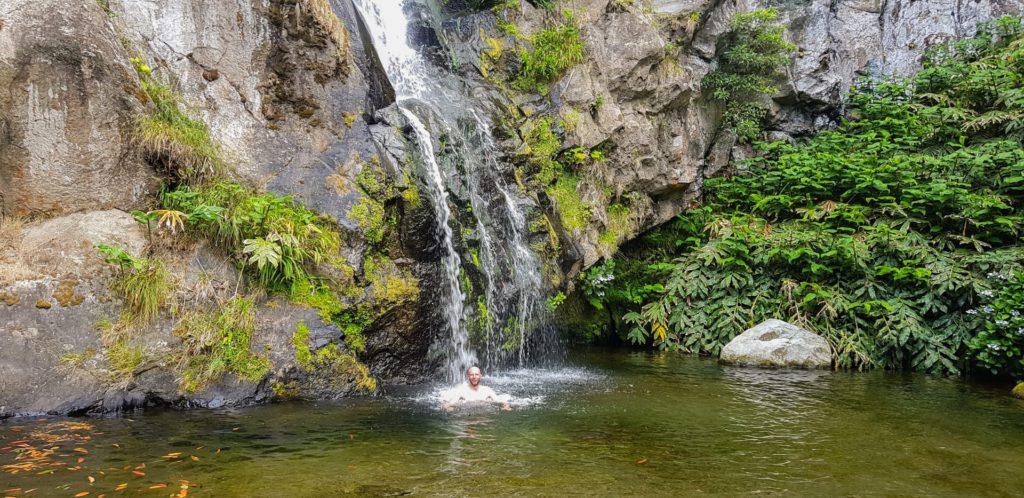 Cascata de Moinhos Azores, Portugal