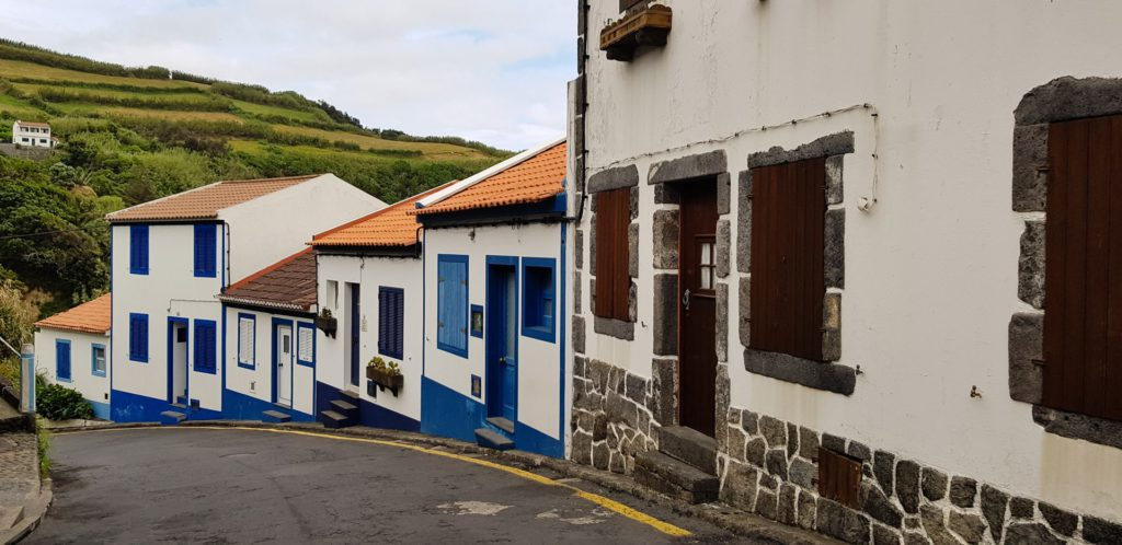 Charming towns Azores Portugal