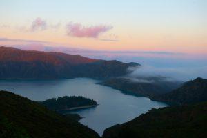 Lagoa do fogo Azores, Portugal