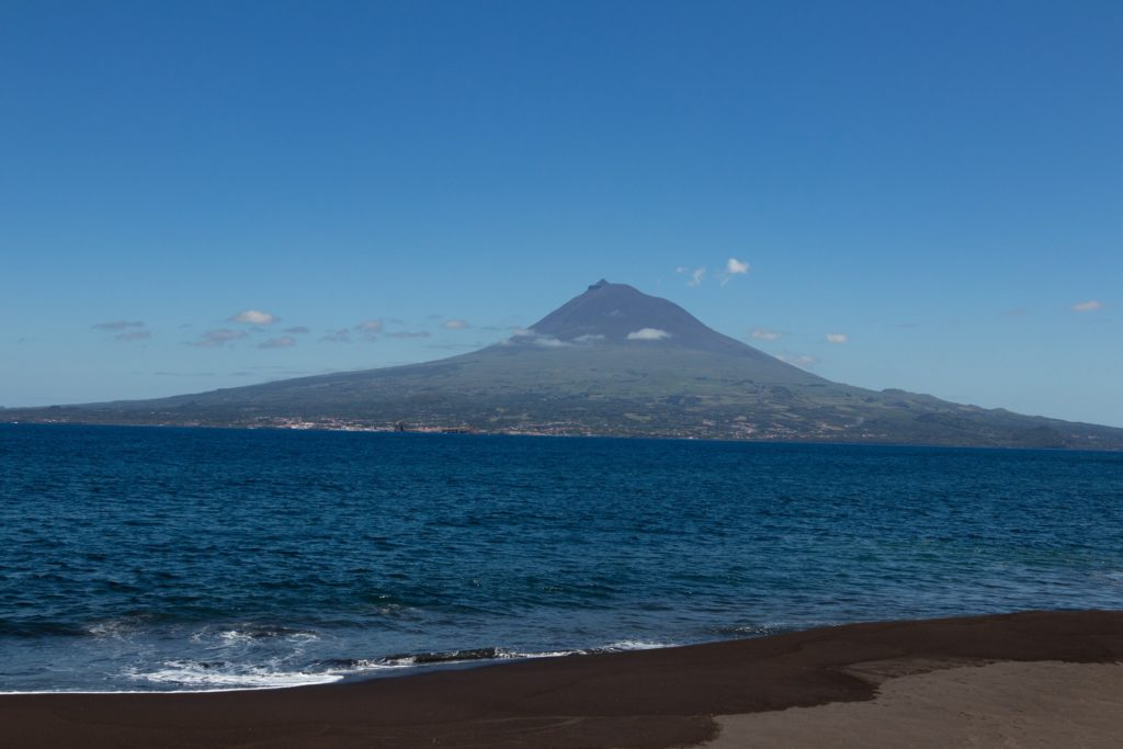 Pico volcano Azores, Portugal