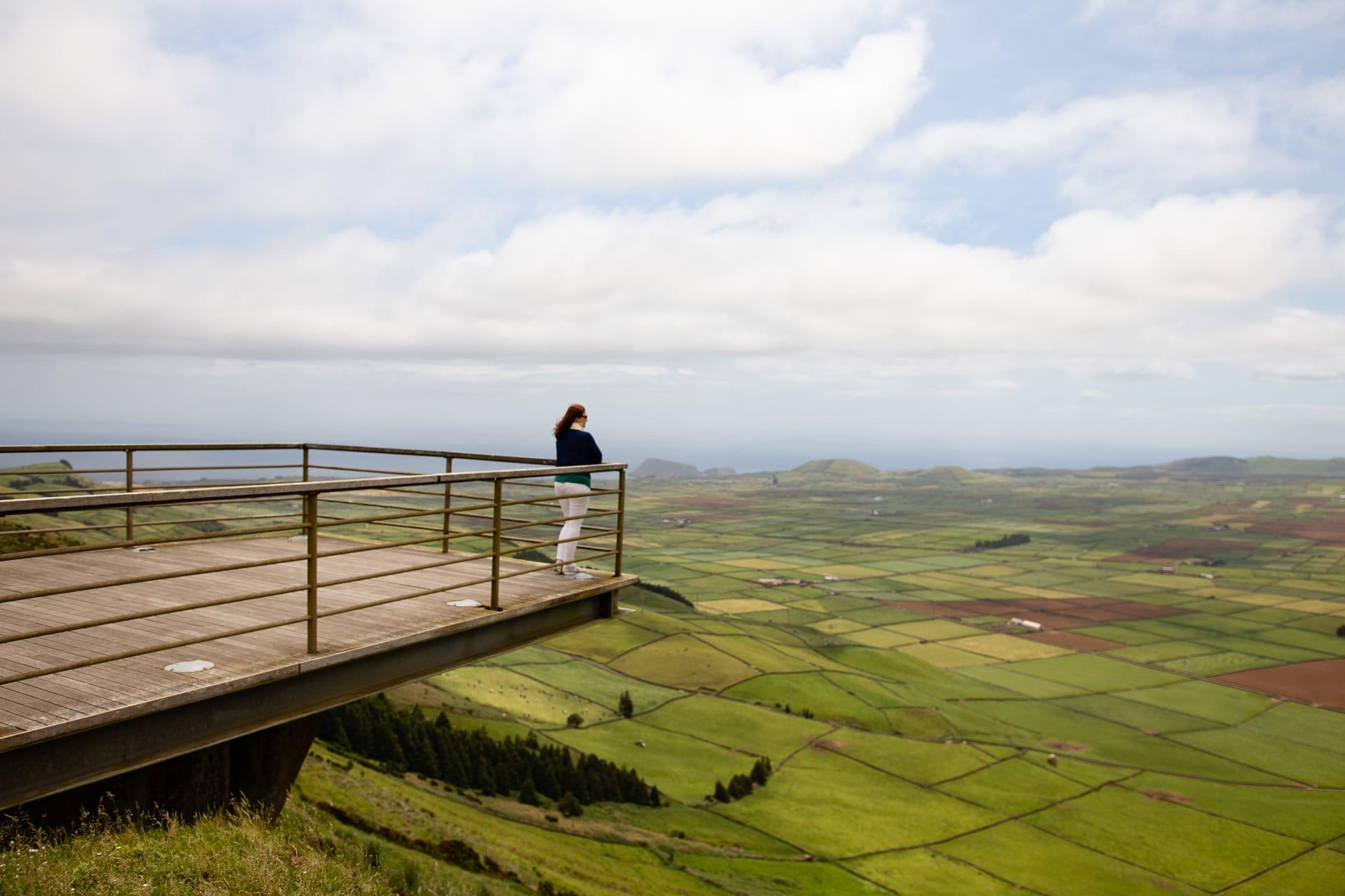Serra do Cume miradouro Terceira Azores Portugal