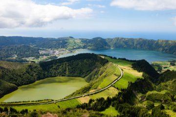 Sete cidades Sao miguel Azores Portugal