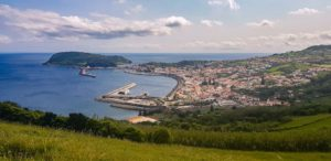 Espalamaca lookout Faial Azores Portugal
