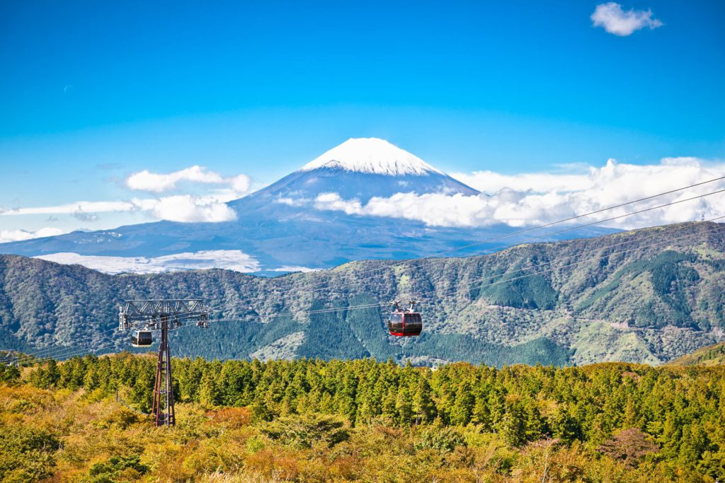 Hakone Ropeway MtFuji Japan