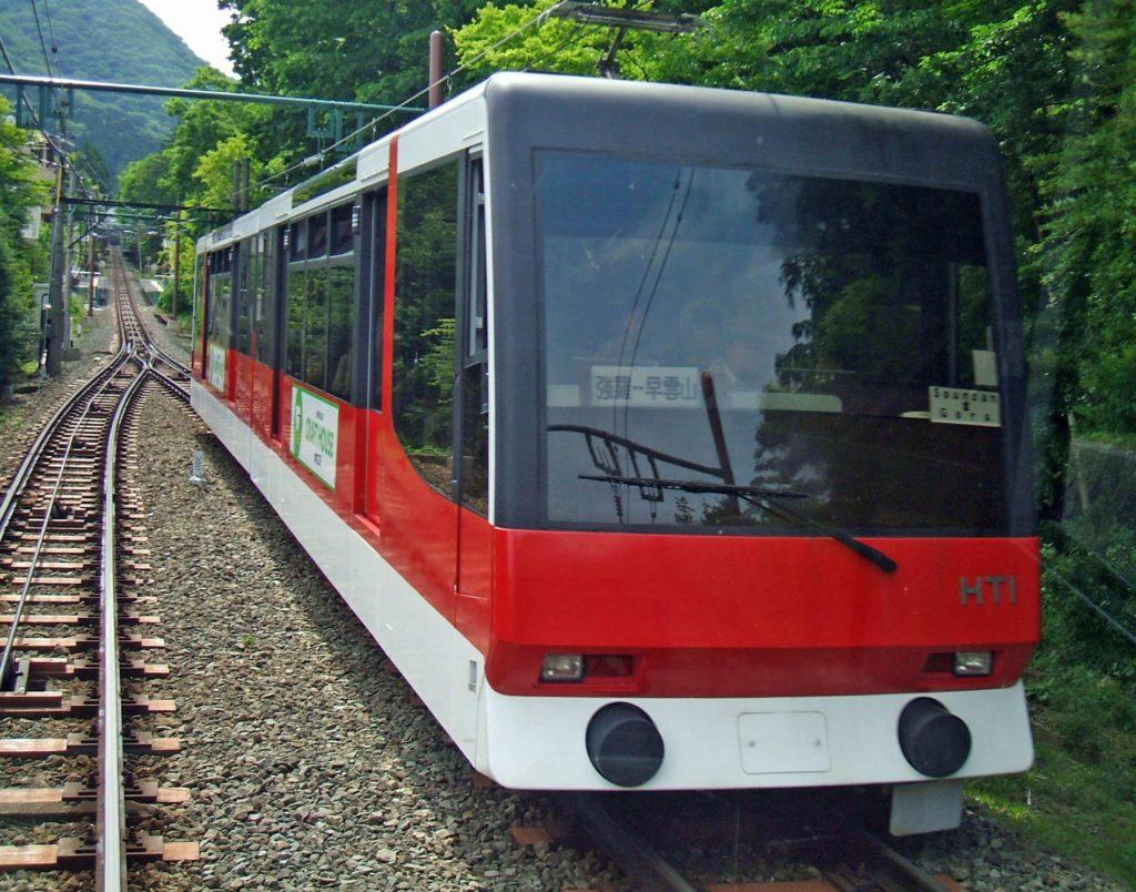 Hakone Tozan cablecar Japan