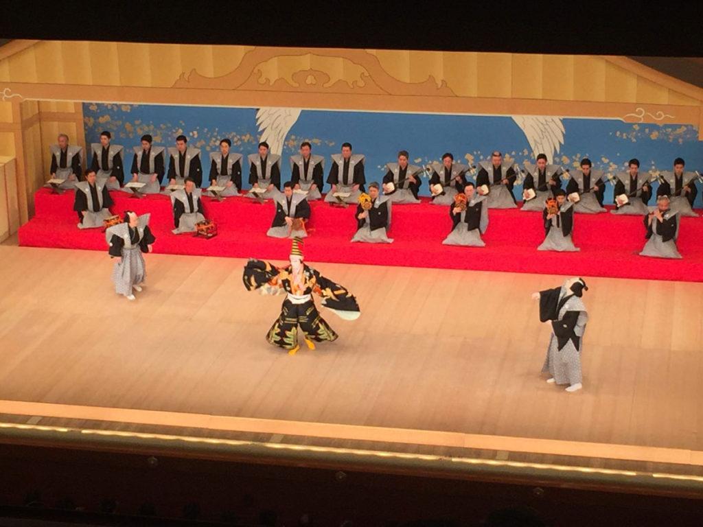Kabuki Performance Tokyo Japan