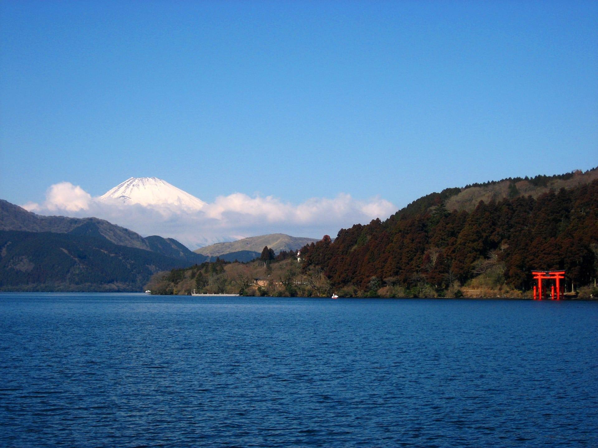Lake Ashi Hakone Japan