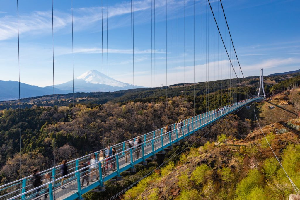 Mishima Skywalk Hakone Japan