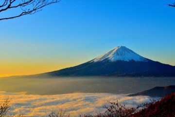 Mount Fuji, a popular day trip from Tokyo