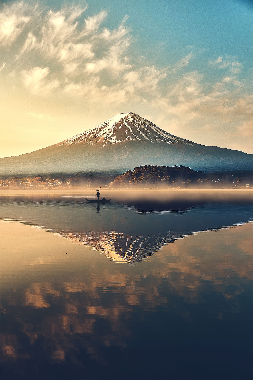 Mount Fuji Lake Kawaguchiko Japan