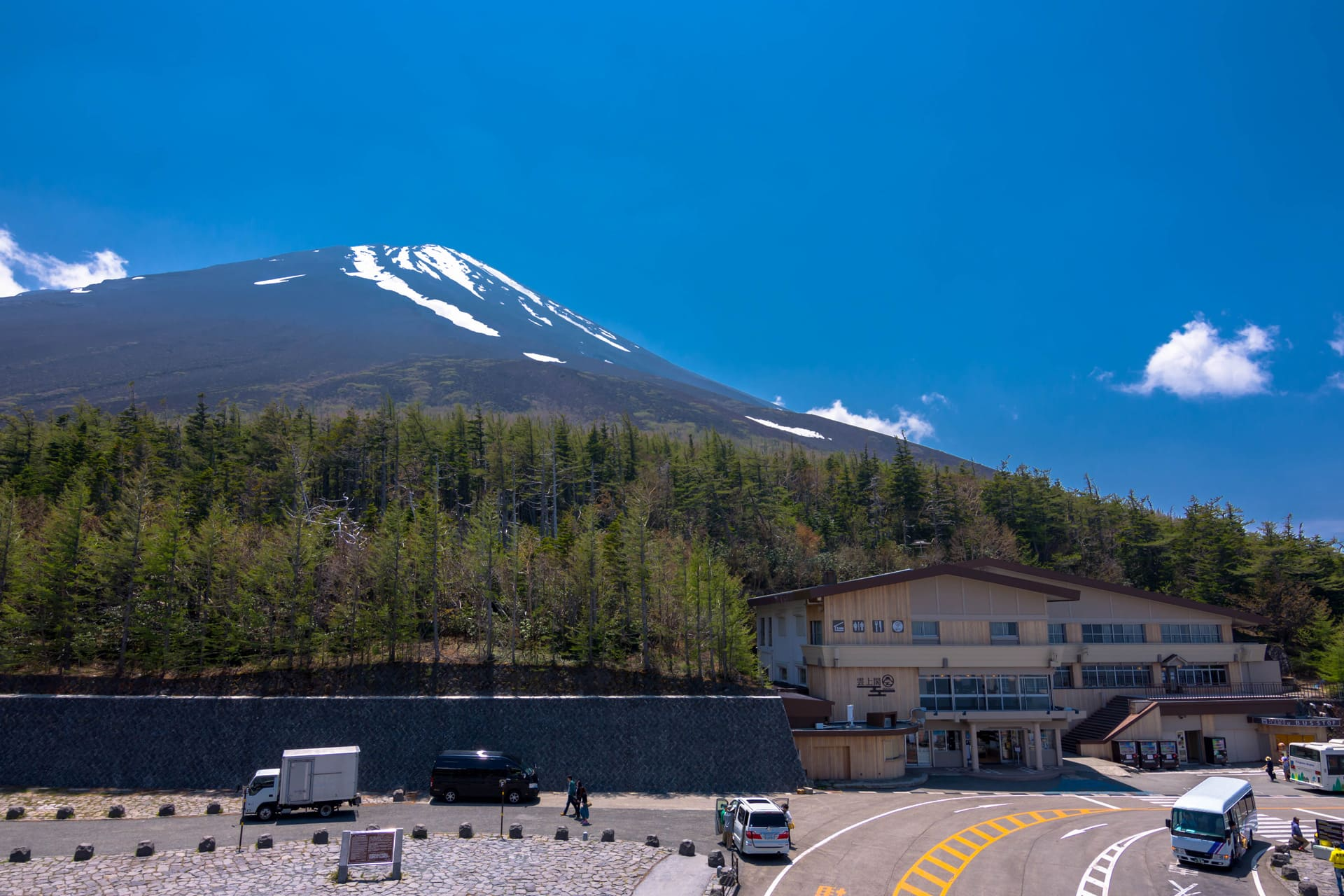 Mount Fuji Subaru Line 5th station Japan