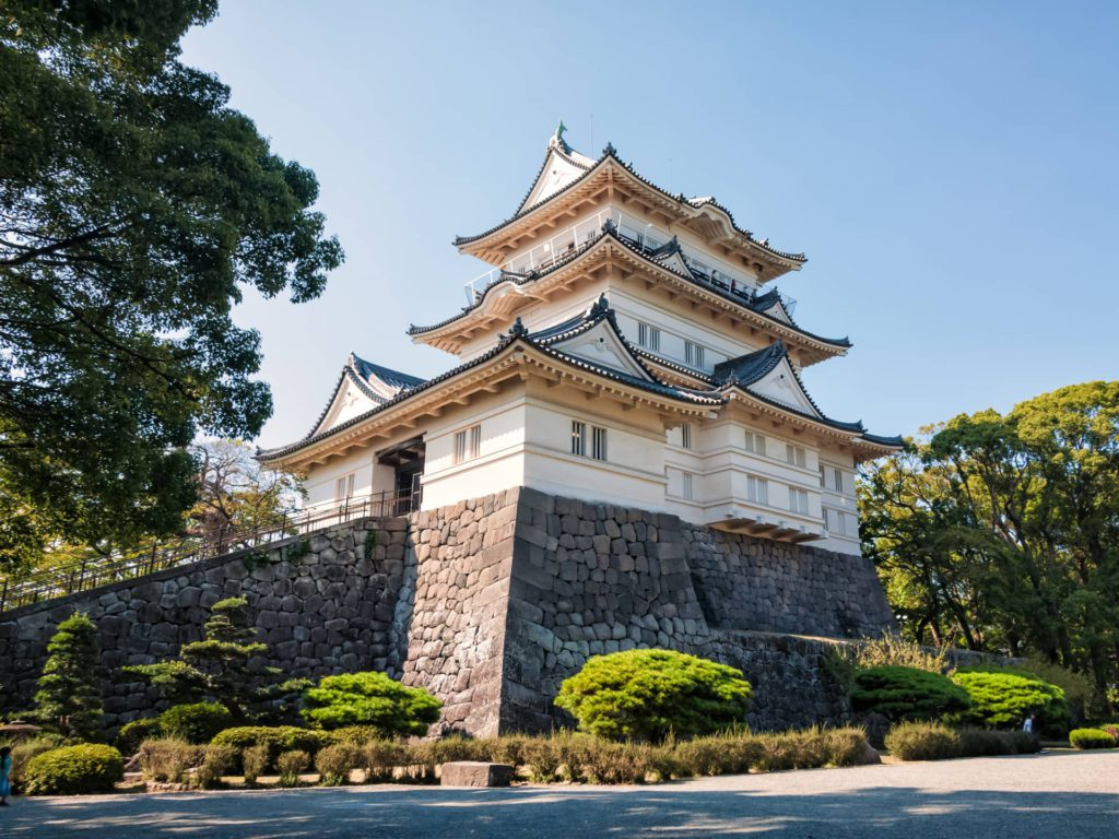 Odawara Castle Hakone Japan