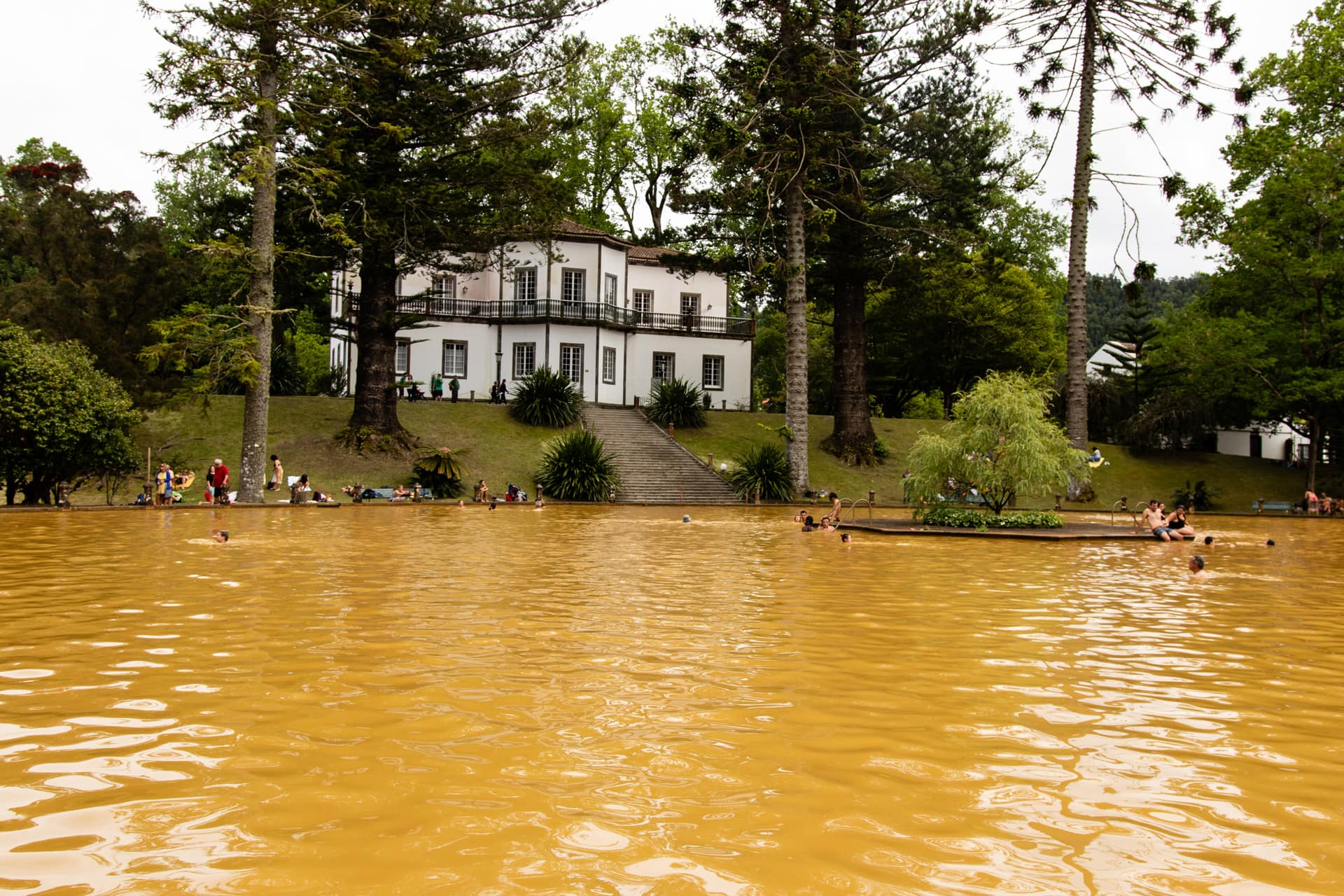 Parque Terra Nostra, Furnas,Sao Miguel Azores, Portugal