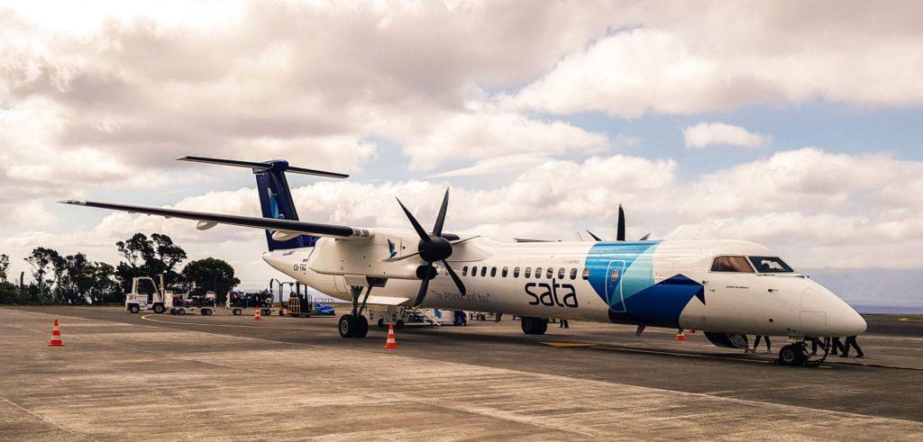 Sata Air Azores airplane