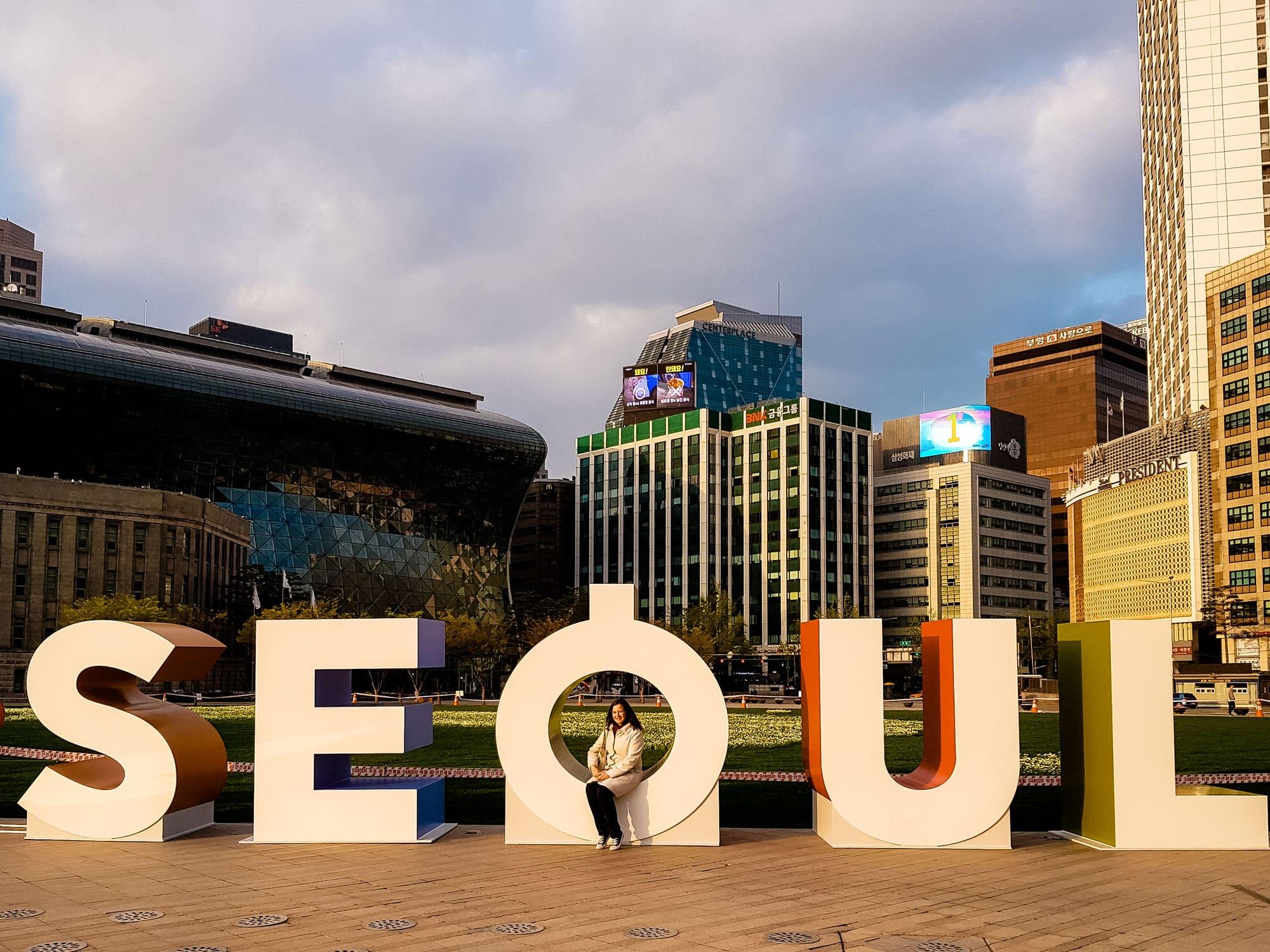 Seoul Sign South Korea