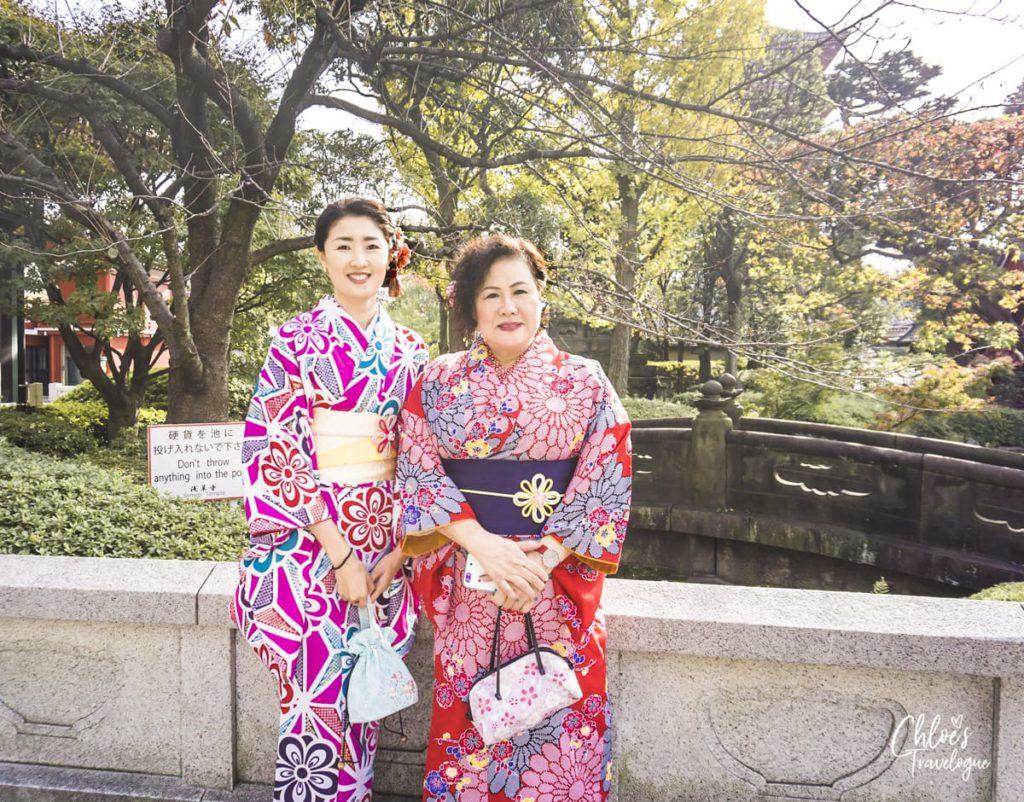 Wear a Kimono in Tokyo
