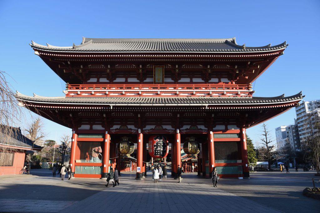Sensoji temple Asakusa Tokyo