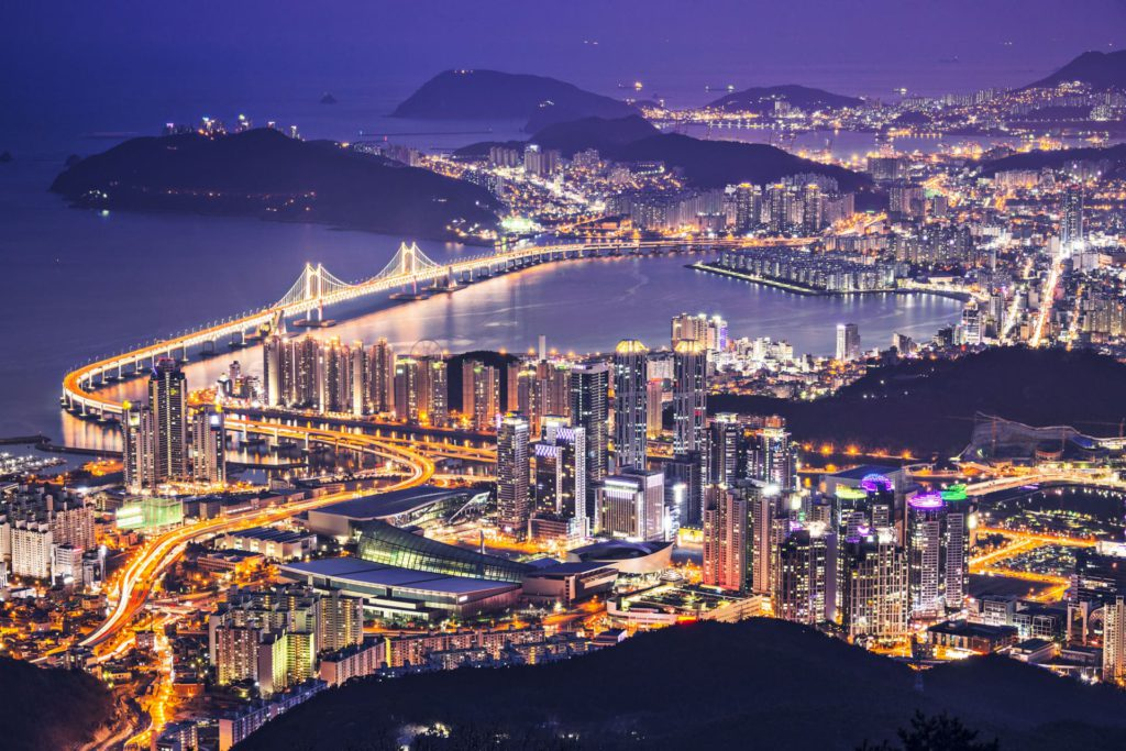 Busan Skyline South Korea