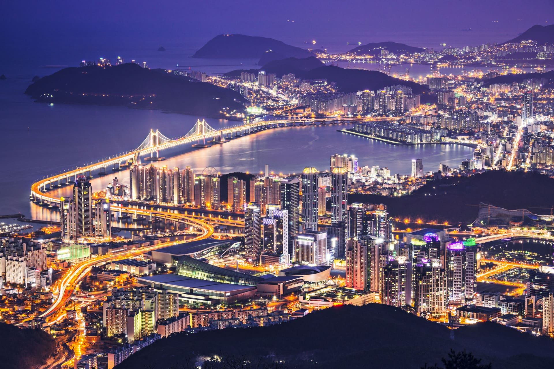 Busan Skyline South Korea