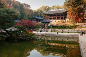 Changdeokgung Palace Secret Garden Seoul South Korea