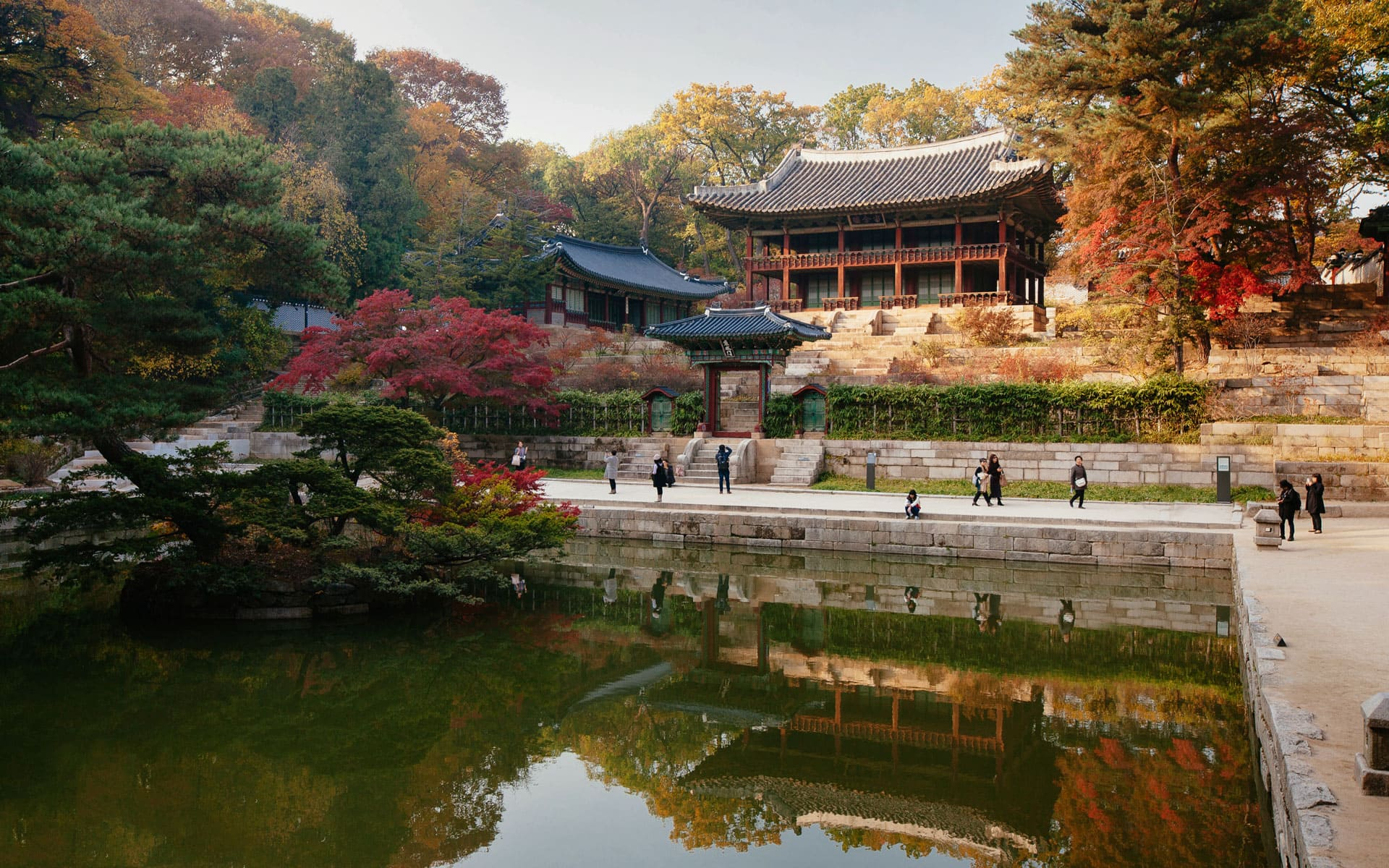 Changdeokgung Palace Secret Garden Seoul South Korea