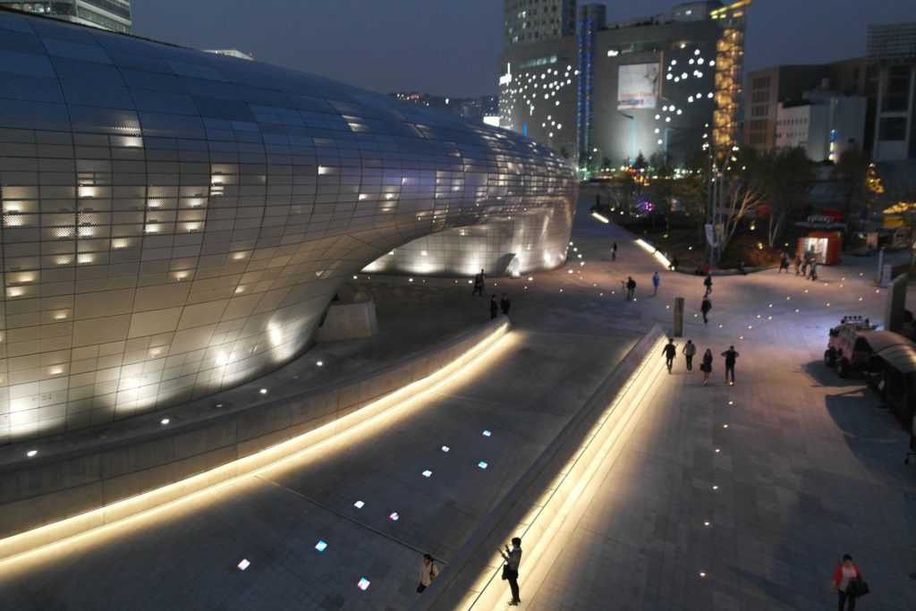 DongDaemun Design Plaza Seoul South Korea