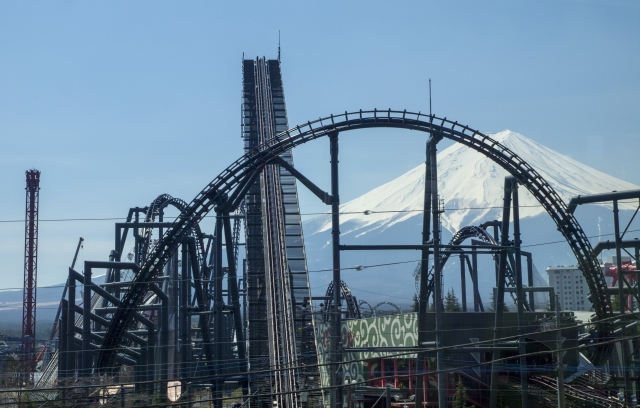 Fuji-Q Highland Mount Fuji Japan