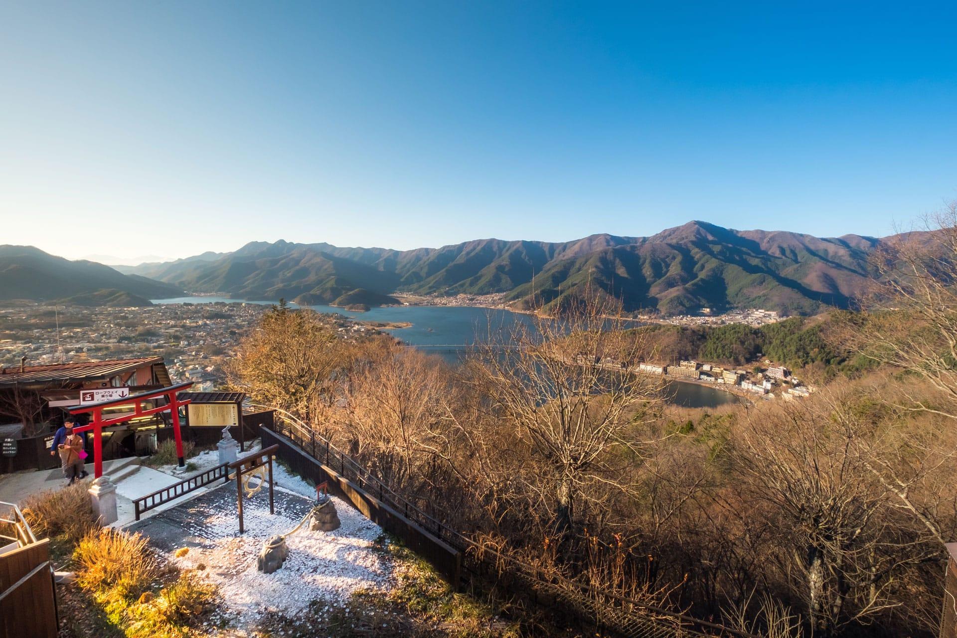 Lake Kawaguchiko Kachi Kachi Mountain Japan