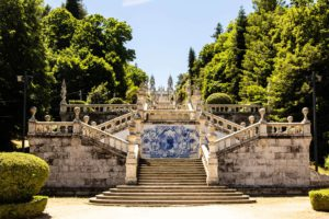 Lamego Shrine Our Lady of Remedies Portugal