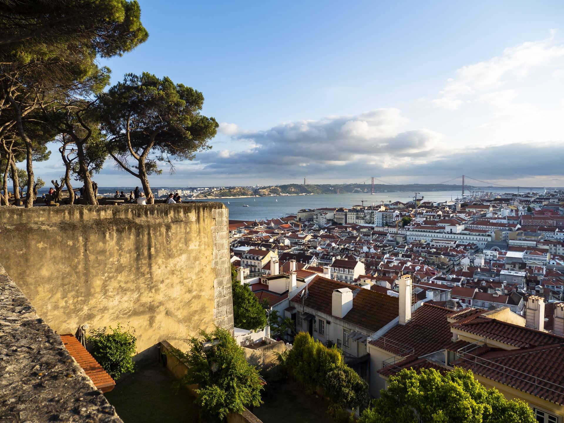 Miradouro da Senhora do Monte Lisbon Portugal