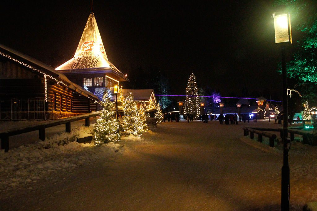 Santa Claus Village Finnish Lapland