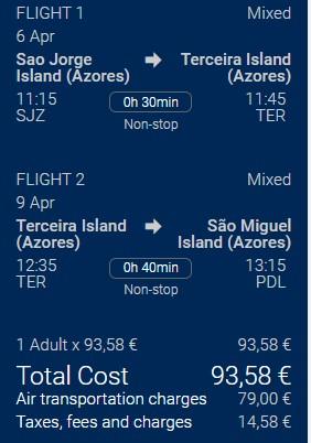 Air Azores Multi-City