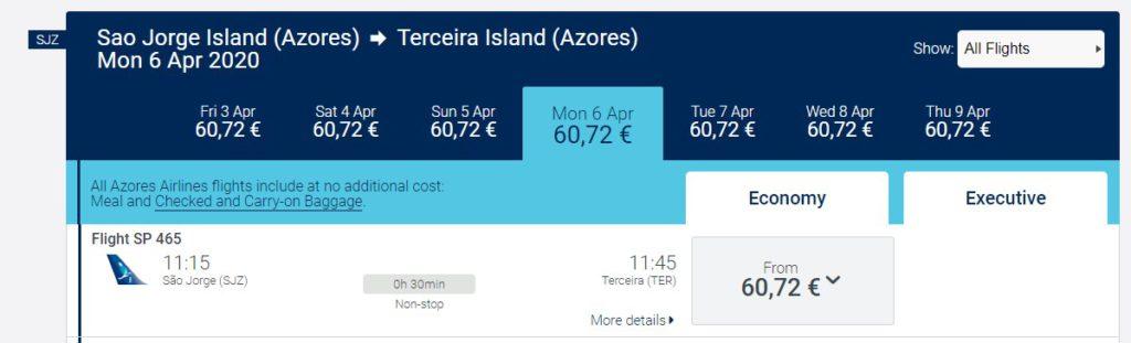 Air Azores SJZ-TER