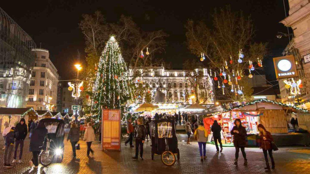 Budapest Hungary Christmas Market