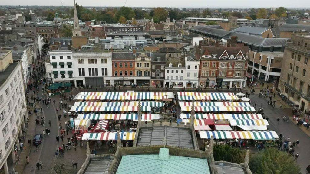 Cambridge UK Christmas Market
