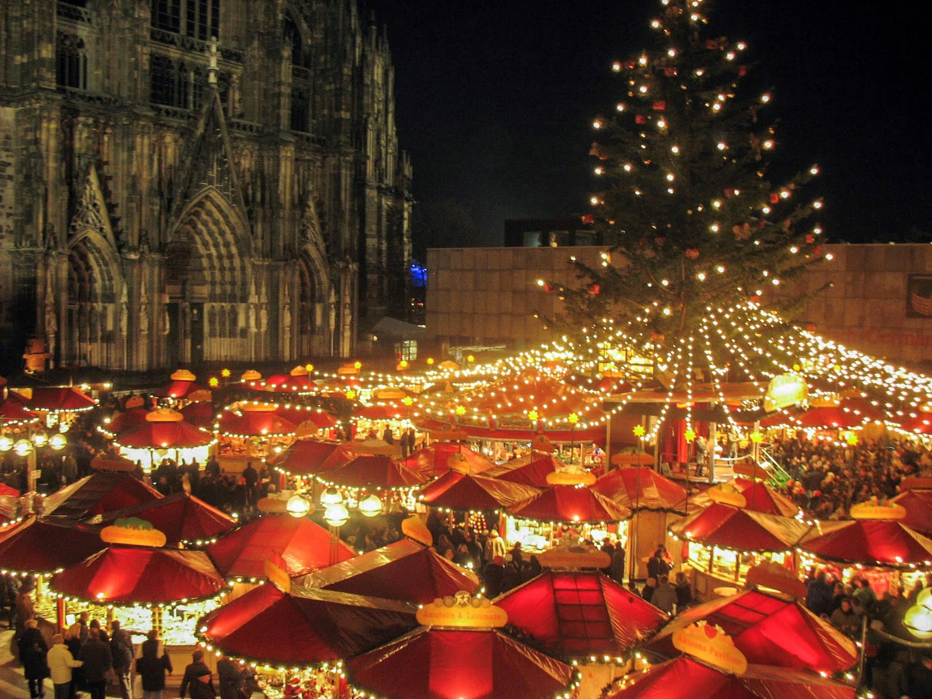 Cologne Germany Christmas Market