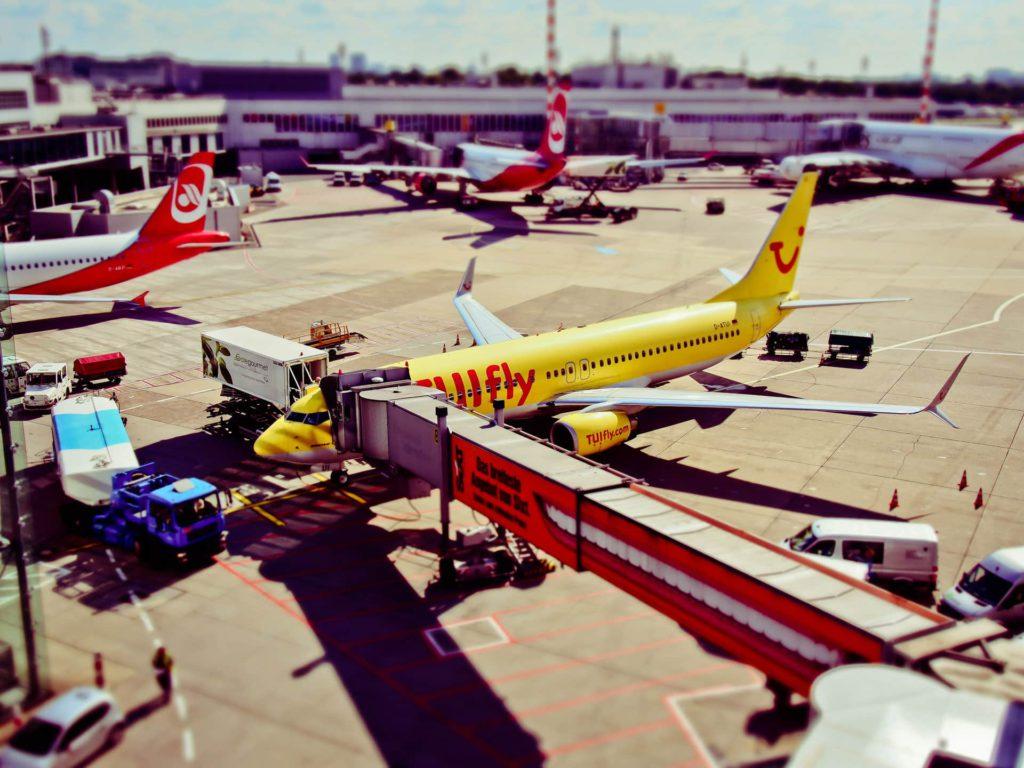 Dusseldorf Airport TuiFly