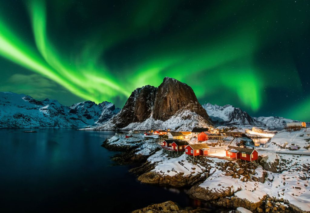 Lofoten Northern Lights Norway