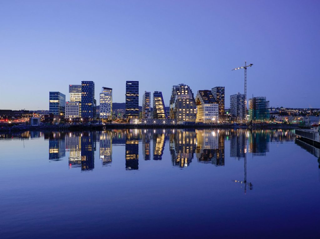 Oslo skyline, Norway
