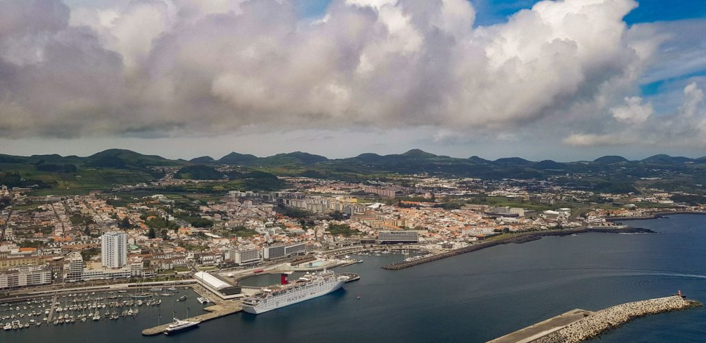 Plane Arrival Ponta Delgada
